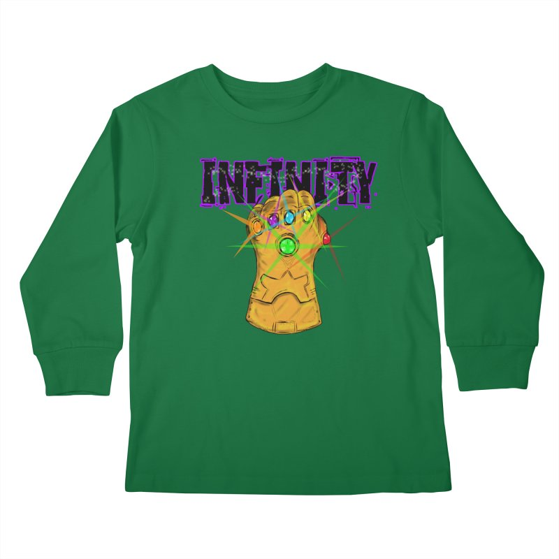 Infinity Kids Longsleeve T-Shirt by Loganferret's Artist Shop