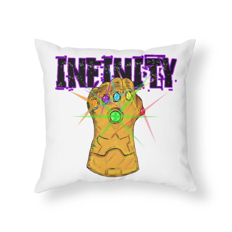 Infinity Home Throw Pillow by Loganferret's Artist Shop