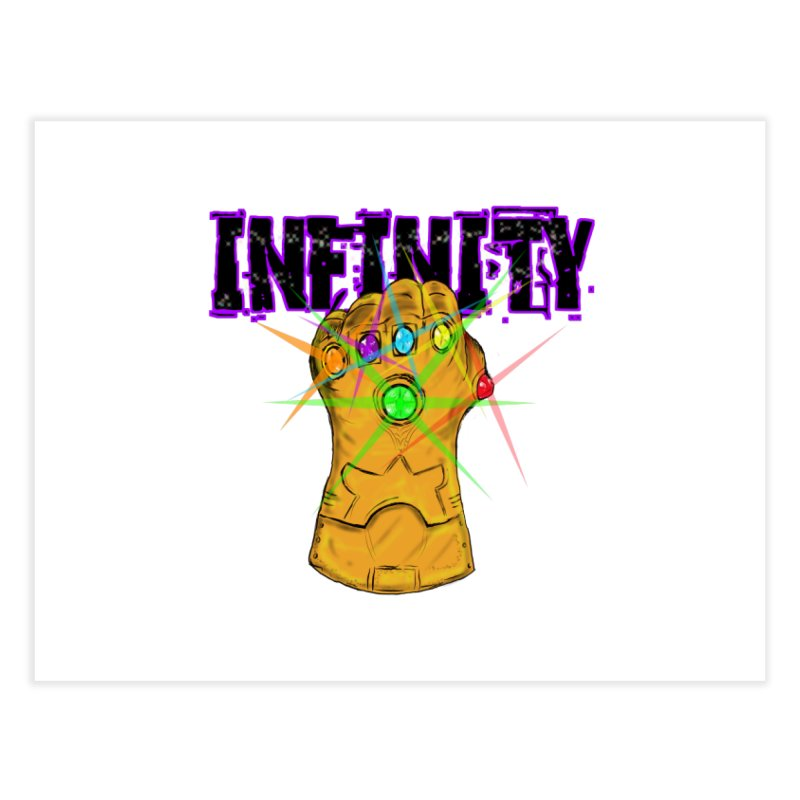 Infinity Home Fine Art Print by Loganferret's Artist Shop