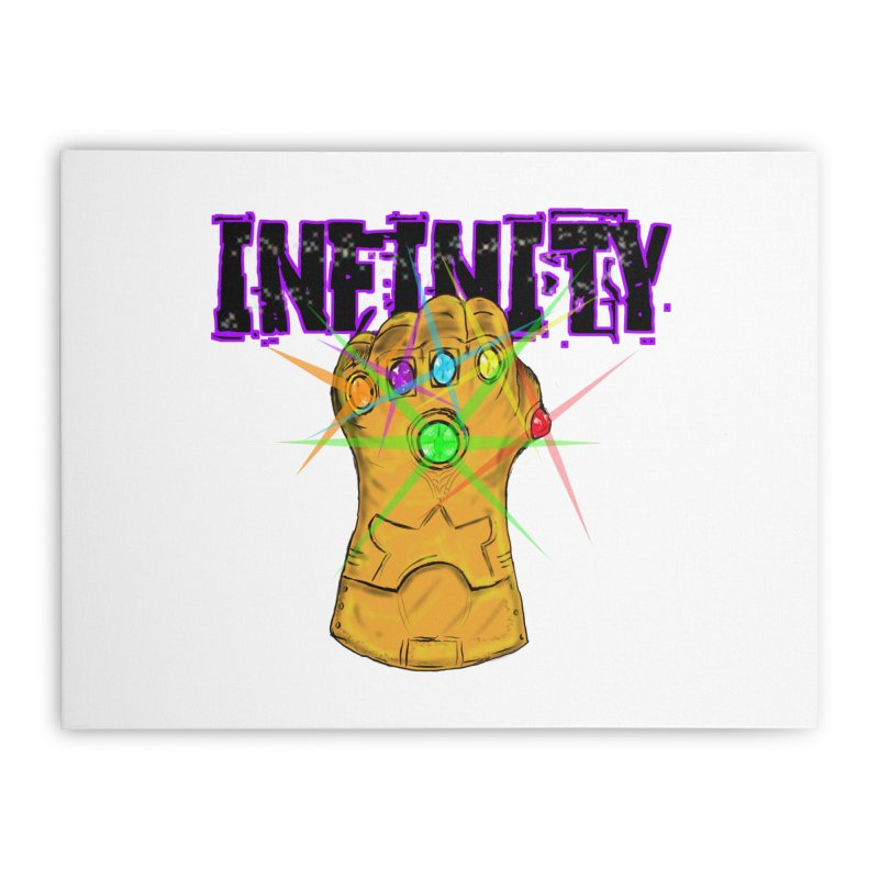 Infinity Home Stretched Canvas by Loganferret's Artist Shop