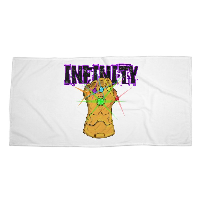 Infinity Accessories Beach Towel by Loganferret's Artist Shop