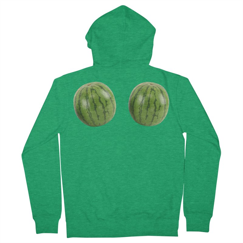 Melons Men's Zip-Up Hoody by Loganferret's Artist Shop