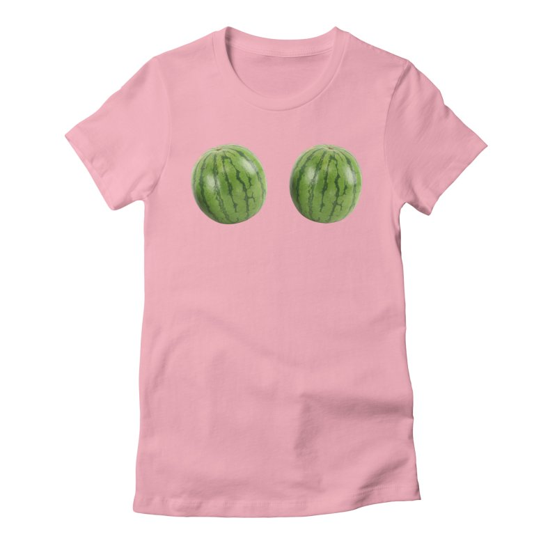 Melons Women's Fitted T-Shirt by Loganferret's Artist Shop