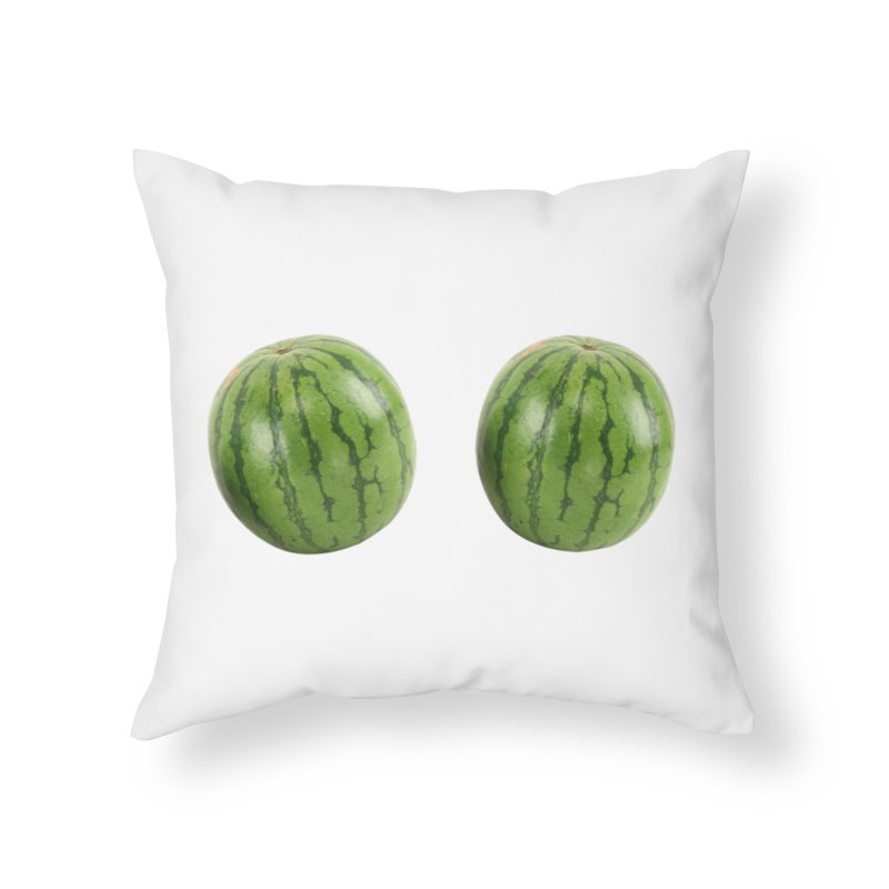 Melons Home Throw Pillow by Loganferret's Artist Shop
