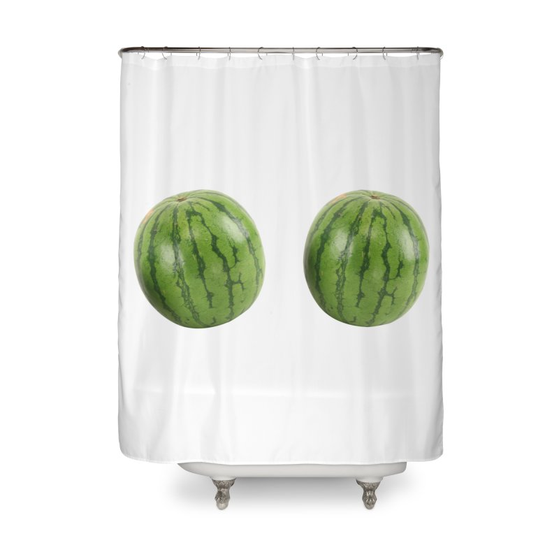 Melons Home Shower Curtain by Loganferret's Artist Shop