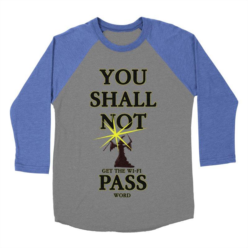 Wifi Password Women's Baseball Triblend T-Shirt by Loganferret's Artist Shop