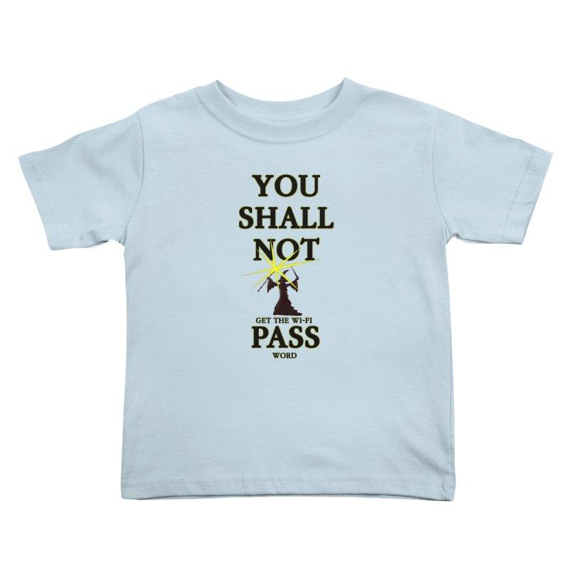 Wifi Password Kids Toddler T-Shirt by Loganferret's Artist Shop