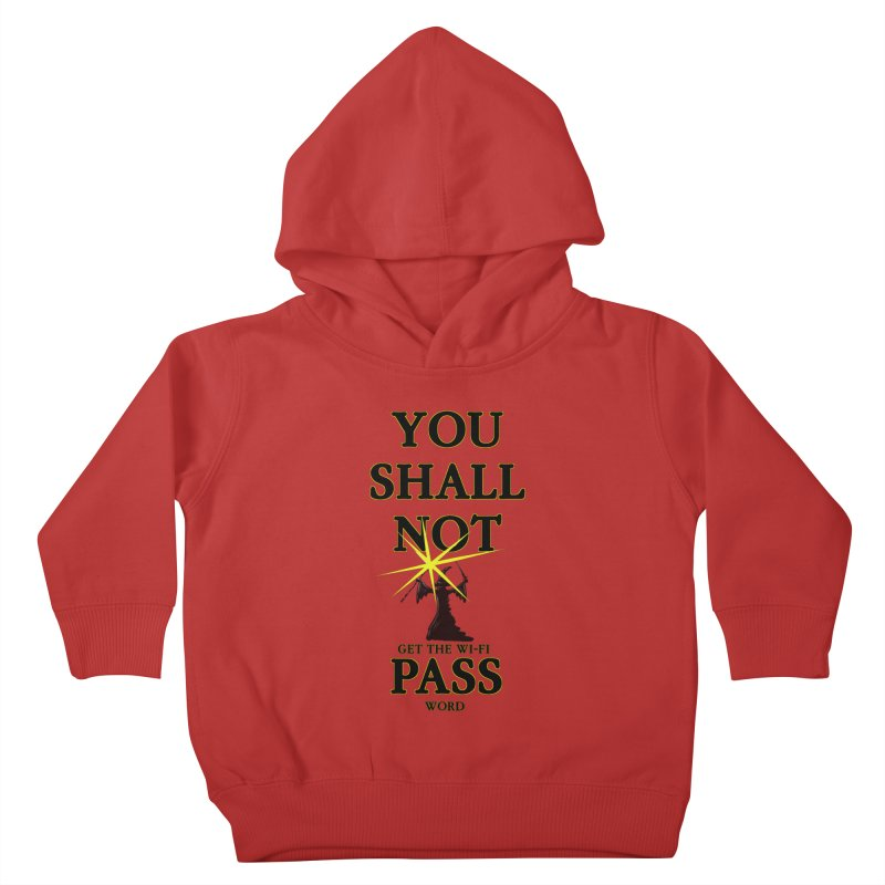 Wifi Password Kids Toddler Pullover Hoody by Loganferret's Artist Shop