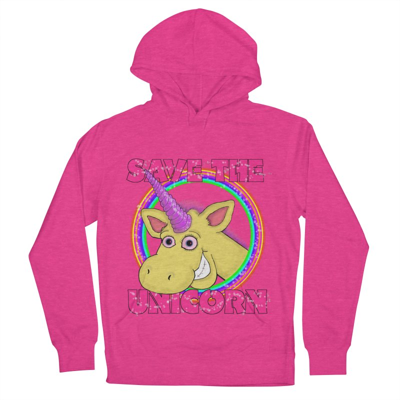 Save The Unicorn Women's Pullover Hoody by Loganferret's Artist Shop