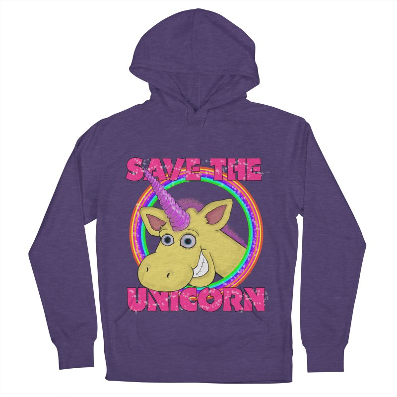 Save The Unicorn Men's Pullover Hoody by Loganferret's Artist Shop