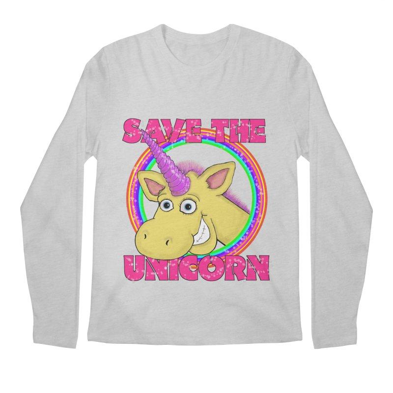 Save The Unicorn Men's Longsleeve T-Shirt by Loganferret's Artist Shop