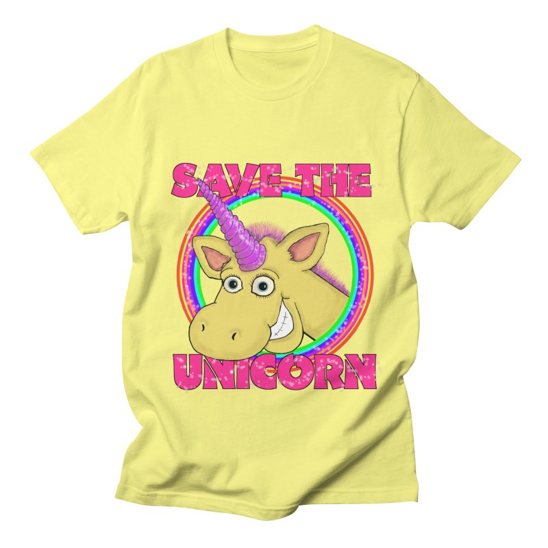 Save The Unicorn Women's Unisex T-Shirt by Loganferret's Artist Shop