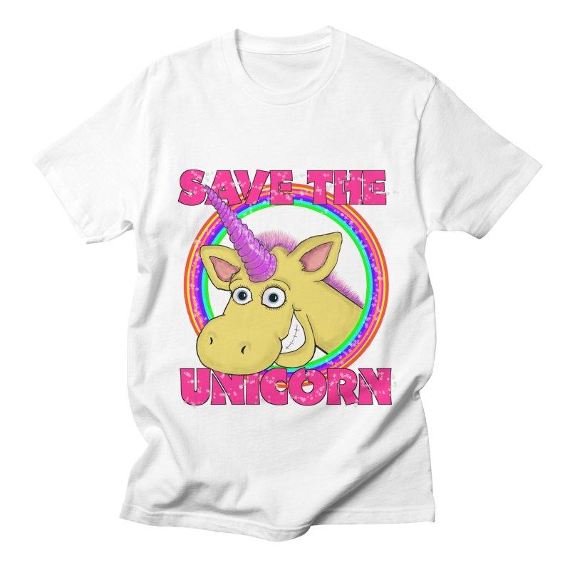 Save The Unicorn Women's Unisex T-Shirt by Loganferret's Artist Shop