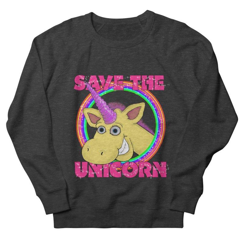 Save The Unicorn Women's French Terry Sweatshirt by Loganferret's Artist Shop