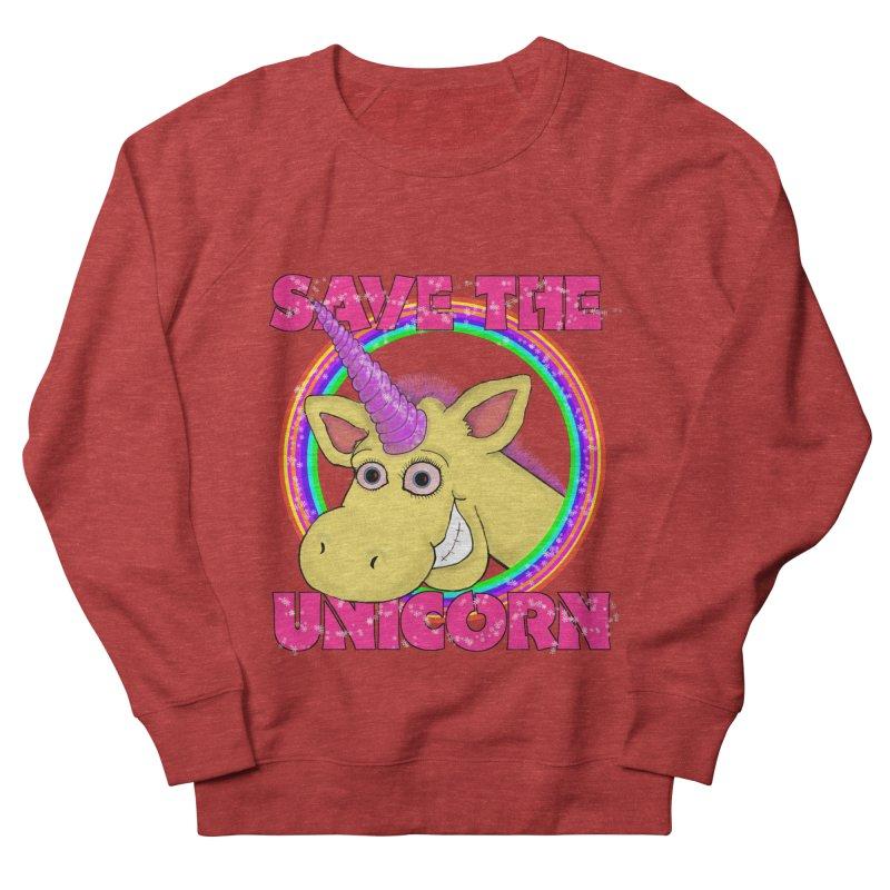 Save The Unicorn Men's Sweatshirt by Loganferret's Artist Shop