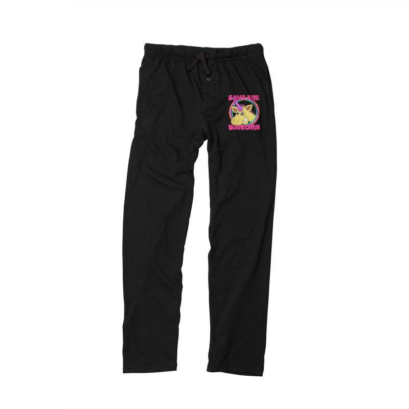 Save The Unicorn Men's Lounge Pants by Loganferret's Artist Shop