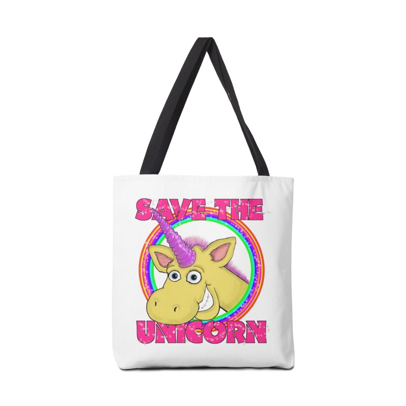 Save The Unicorn Accessories Bag by Loganferret's Artist Shop