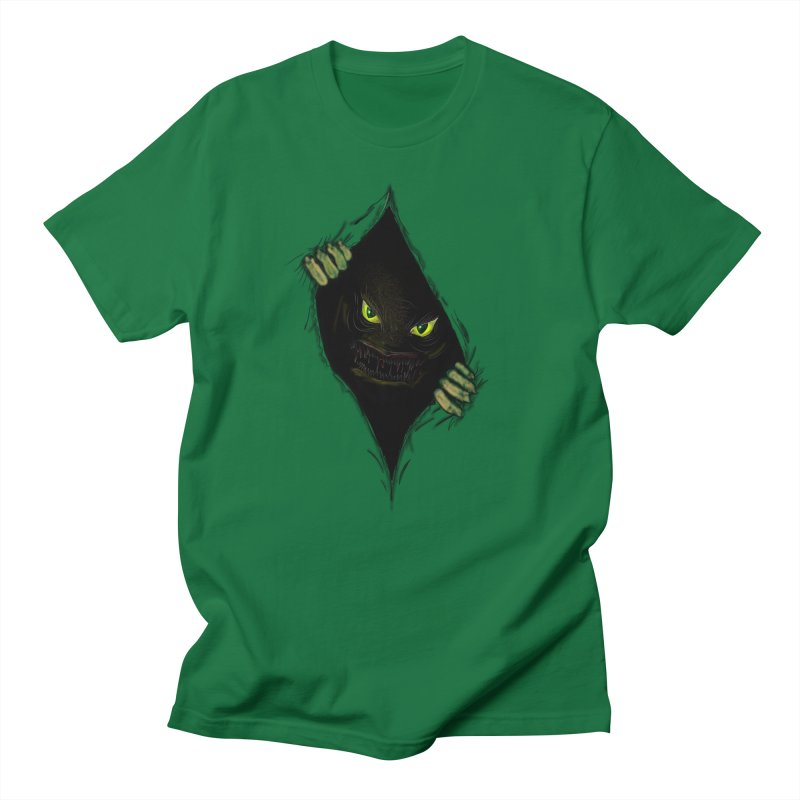 Do Not Open in Men's Regular T-Shirt Kelly Green by Loganferret's Artist Shop