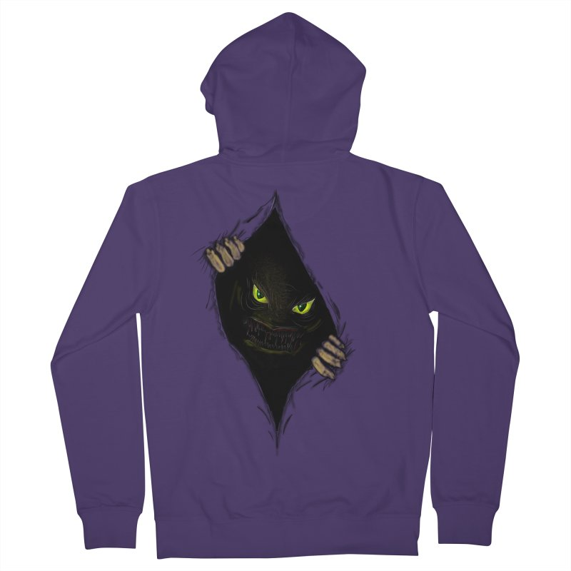 Do Not Open Women's French Terry Zip-Up Hoody by Loganferret's Artist Shop