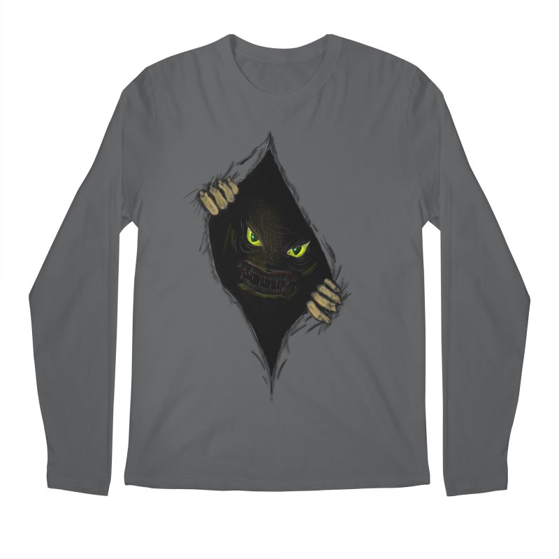 Do Not Open Men's Regular Longsleeve T-Shirt by Loganferret's Artist Shop