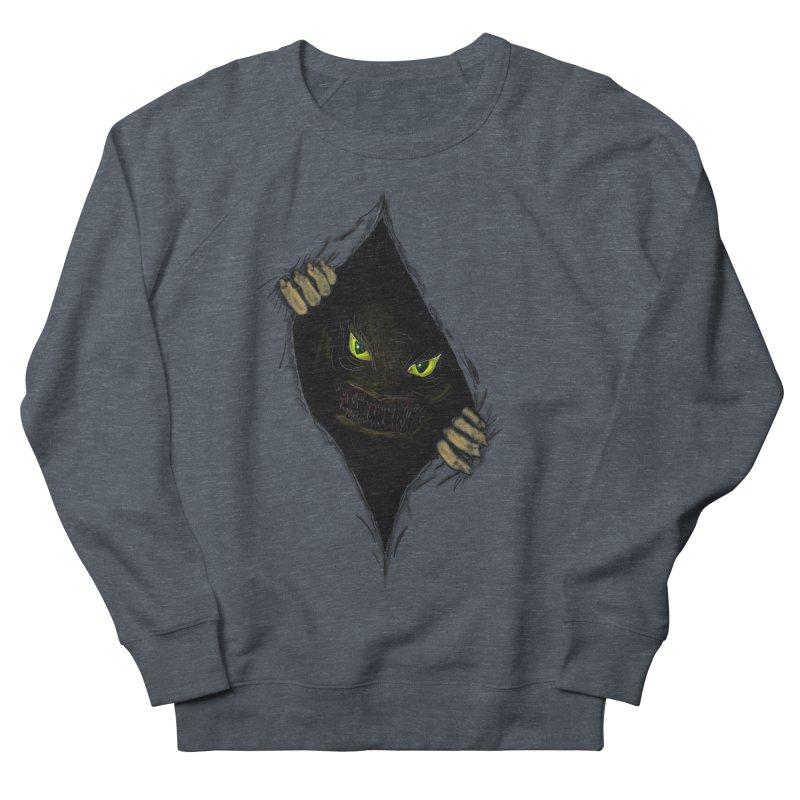 Do Not Open Women's French Terry Sweatshirt by Loganferret's Artist Shop