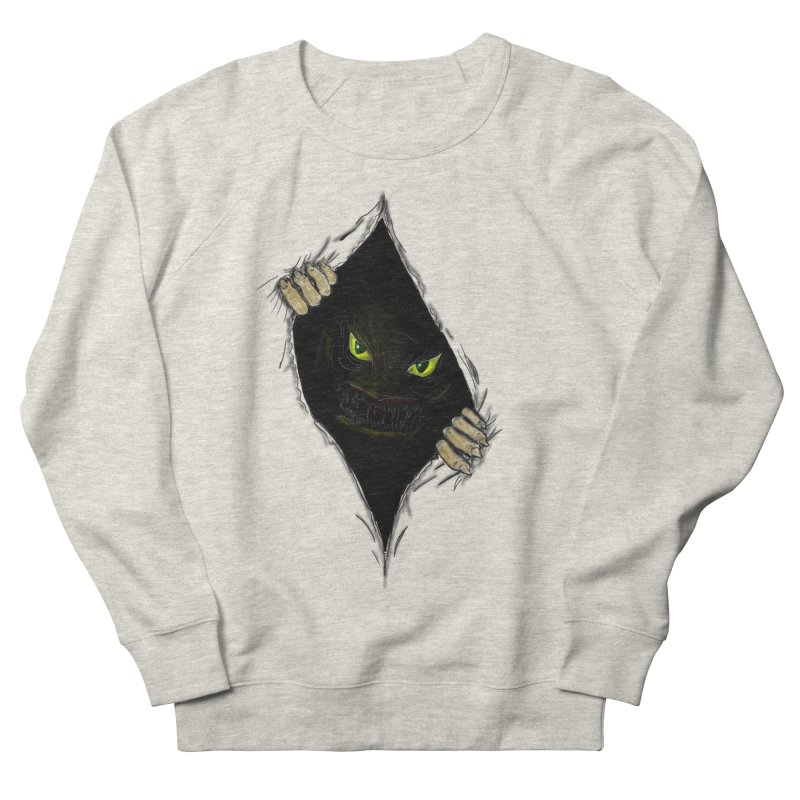Do Not Open Men's French Terry Sweatshirt by Loganferret's Artist Shop