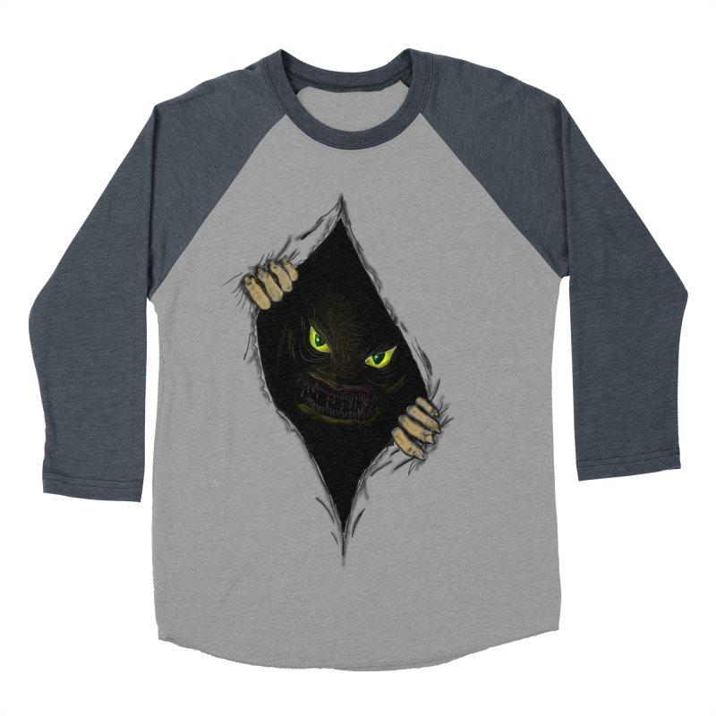 Do Not Open Women's Baseball Triblend T-Shirt by Loganferret's Artist Shop