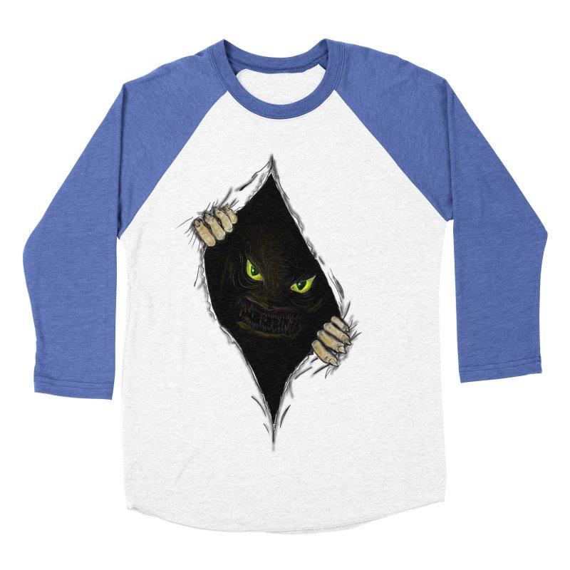 Do Not Open Men's Baseball Triblend T-Shirt by Loganferret's Artist Shop