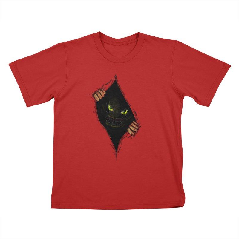 Do Not Open Kids T-shirt by Loganferret's Artist Shop