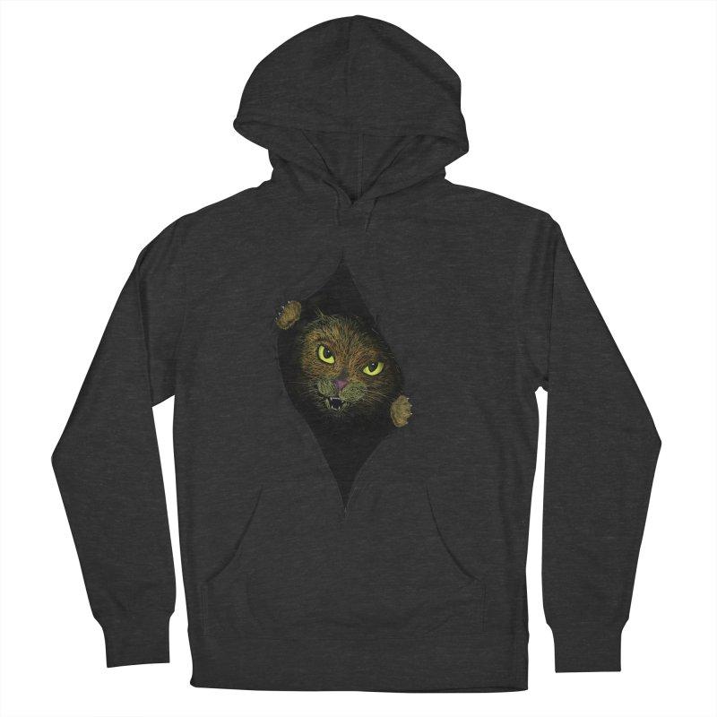 Cat Flap? Women's Pullover Hoody by Loganferret's Artist Shop
