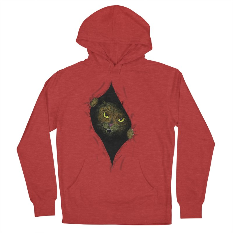 Cat Flap? Women's Pullover Hoody by Loganferret's Artist Shop