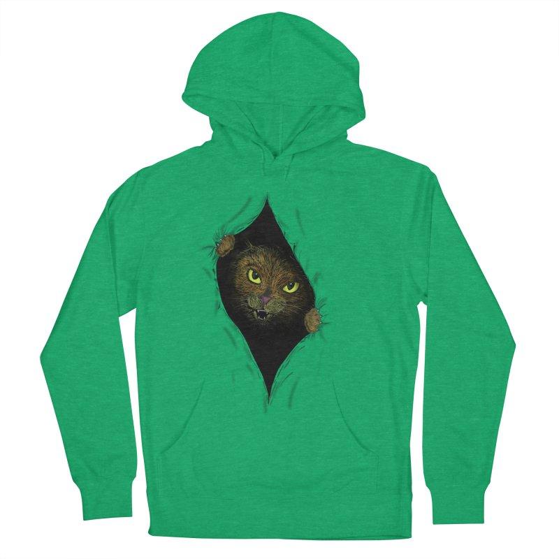 Cat Flap? Men's Pullover Hoody by Loganferret's Artist Shop