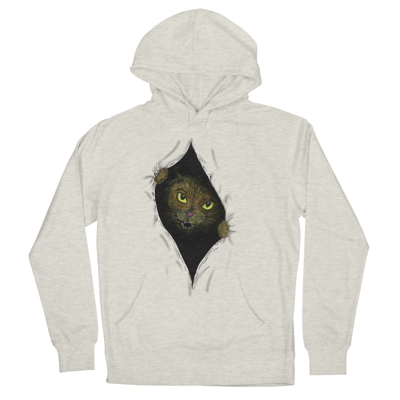 Cat Flap? Men's Pullover Hoody by Loganferret's Artist Shop
