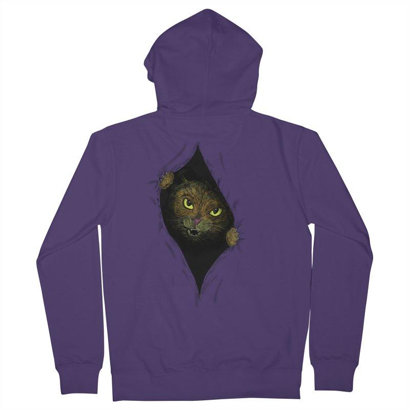 Cat Flap? Women's Zip-Up Hoody by Loganferret's Artist Shop