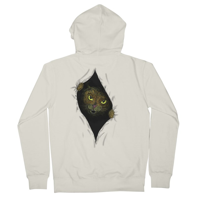 Cat Flap? Women's Zip-Up Hoody by Loganferret's Artist Shop