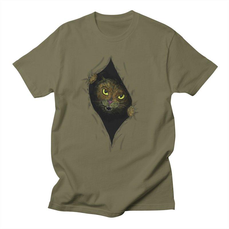 Cat Flap? Men's T-shirt by Loganferret's Artist Shop