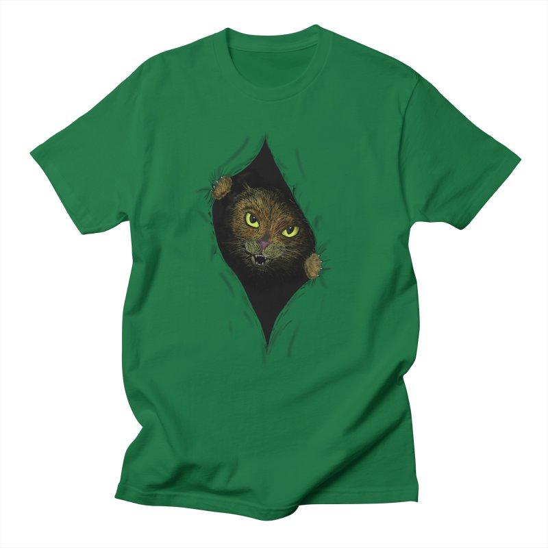 Cat Flap? Women's Unisex T-Shirt by Loganferret's Artist Shop