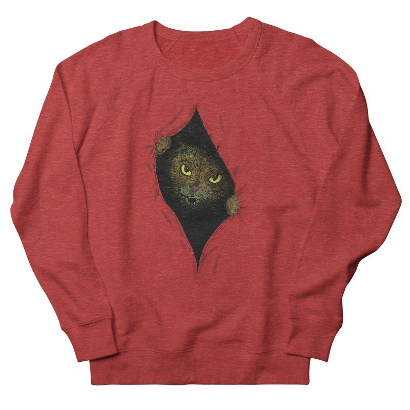 Cat Flap? Women's French Terry Sweatshirt by Loganferret's Artist Shop