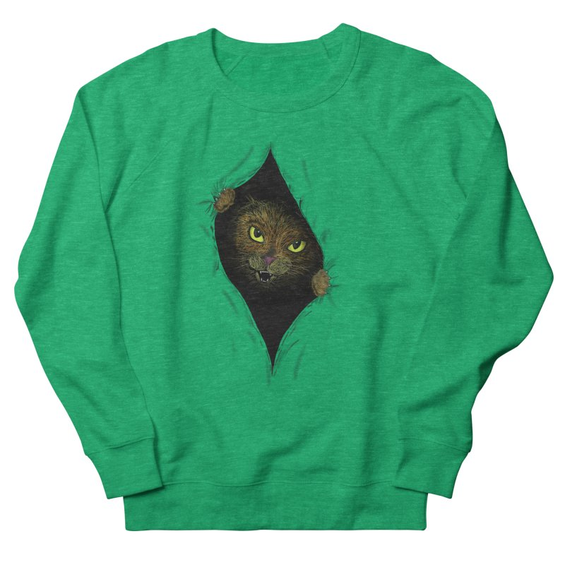 Cat Flap? Men's Sweatshirt by Loganferret's Artist Shop