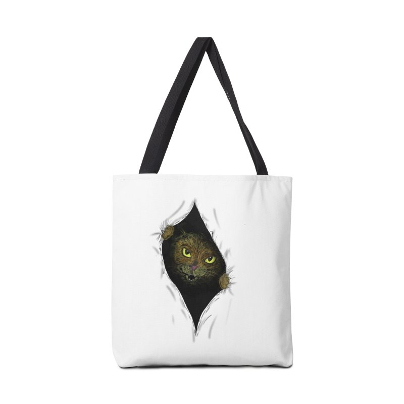 Cat Flap? Accessories Bag by Loganferret's Artist Shop
