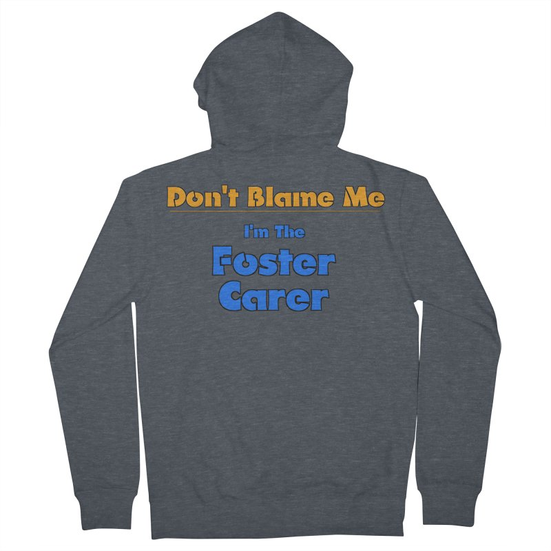 Don't Blame Me Men's French Terry Zip-Up Hoody by Loganferret's Artist Shop