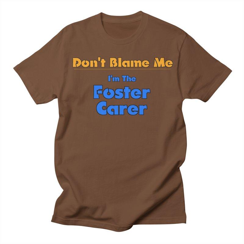 Don't Blame Me Men's T-shirt by Loganferret's Artist Shop