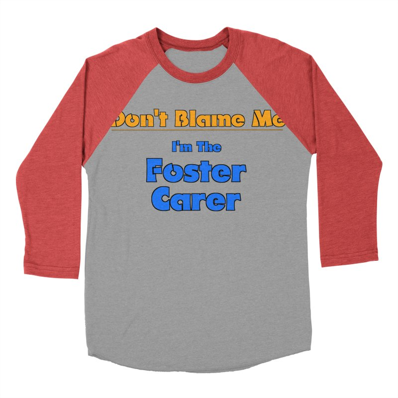 Don't Blame Me Women's Baseball Triblend T-Shirt by Loganferret's Artist Shop