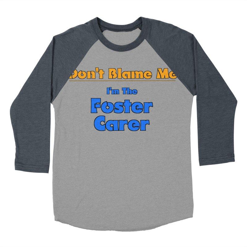 Don't Blame Me Men's Baseball Triblend T-Shirt by Loganferret's Artist Shop