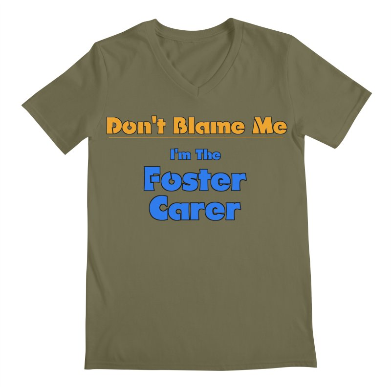 Don't Blame Me Men's V-Neck by Loganferret's Artist Shop