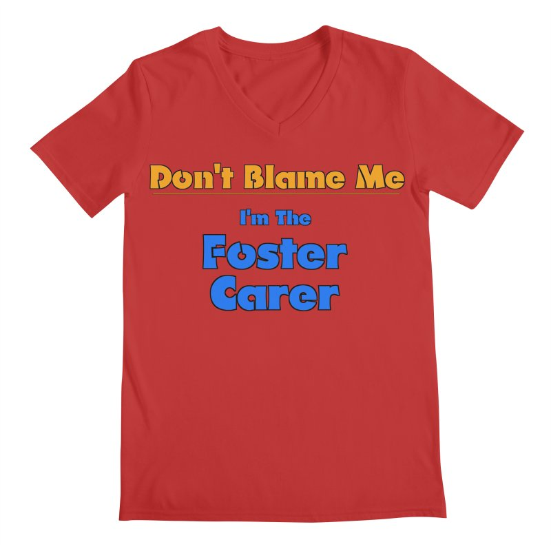 Don't Blame Me Men's V-Neck by Loganferret's Artist Shop