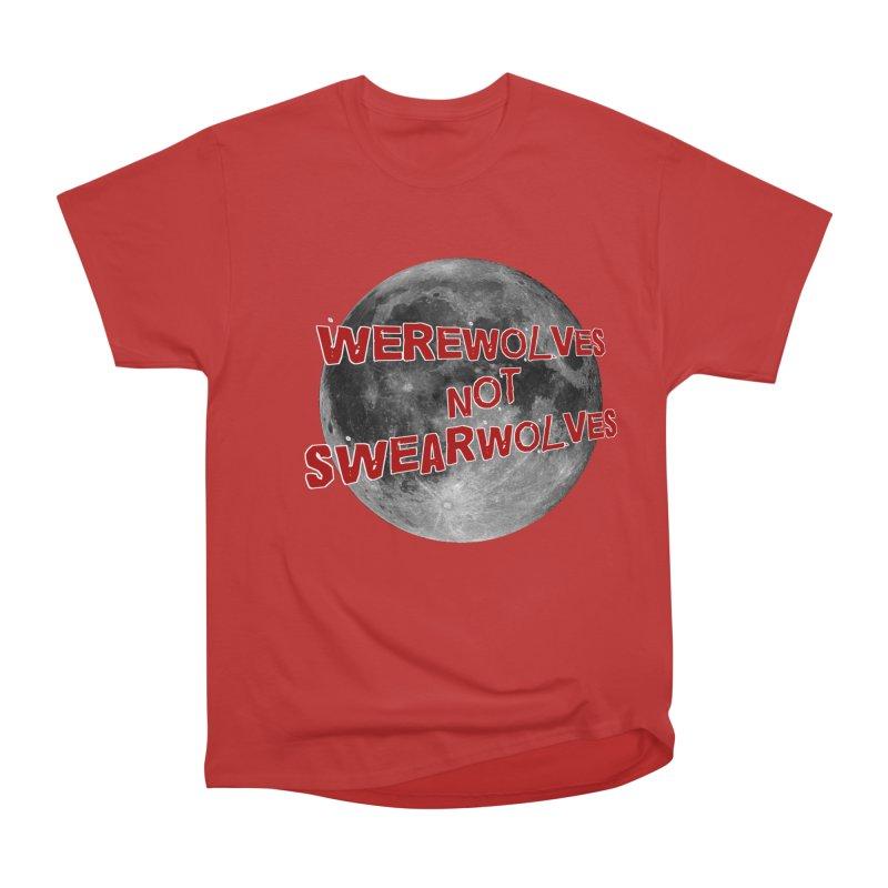 Werewolves not Swearwolves Men's Heavyweight T-Shirt by Loganferret's Artist Shop