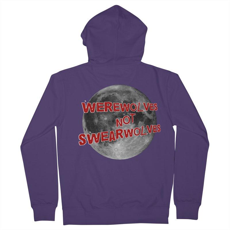 Werewolves not Swearwolves Women's Zip-Up Hoody by Loganferret's Artist Shop