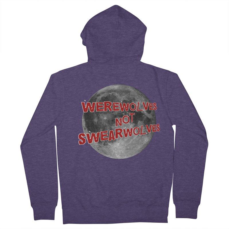 Werewolves not Swearwolves Men's Zip-Up Hoody by Loganferret's Artist Shop