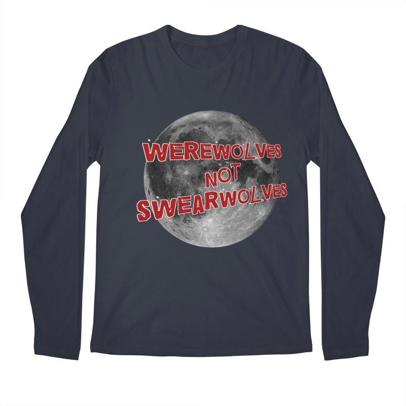 Werewolves not Swearwolves Men's Longsleeve T-Shirt by Loganferret's Artist Shop